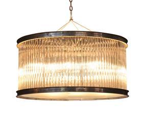 Lamp Rod, transparant, L 50 cm