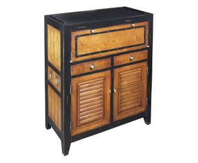 Mobiletto 2 ante e 3 cassetti Cape Cod in legno di acero