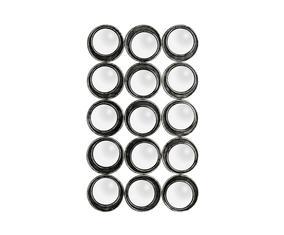 Wandspiegel Olivia, zwart, H 118 cm