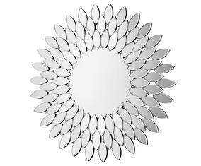 Wandspiegel Isa, zilver, Diameter 100 cm