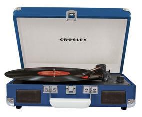 Виниловый проигрыватель Crosley Cruiser Deluxe, 35х10х25 см