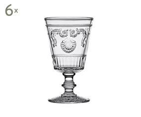 Набор из 6 бокалов - стекло, 200 мл