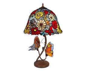 Настольная лампа ручной работы - стекло, 68 см