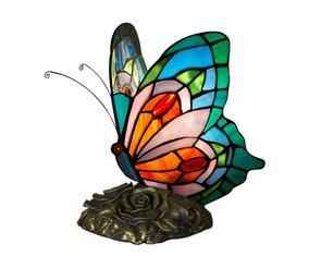 Настольная лампа ручной работы - стекло, 21 см