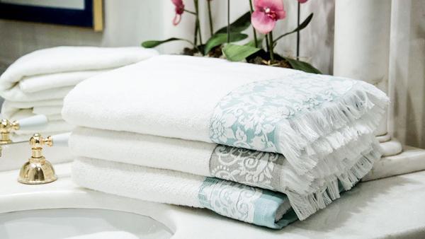 Romantische Handtücher