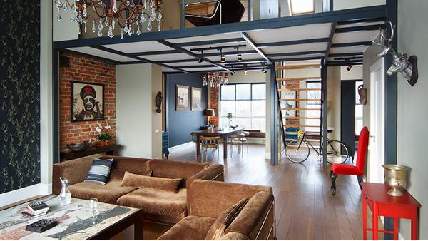 Sophisticated loft