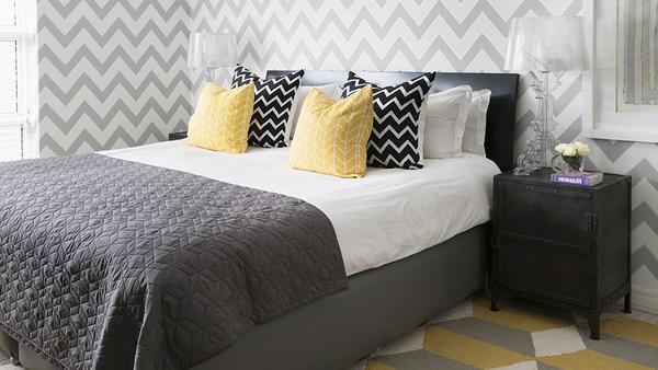 Schlafzimmer im Nordic-Style
