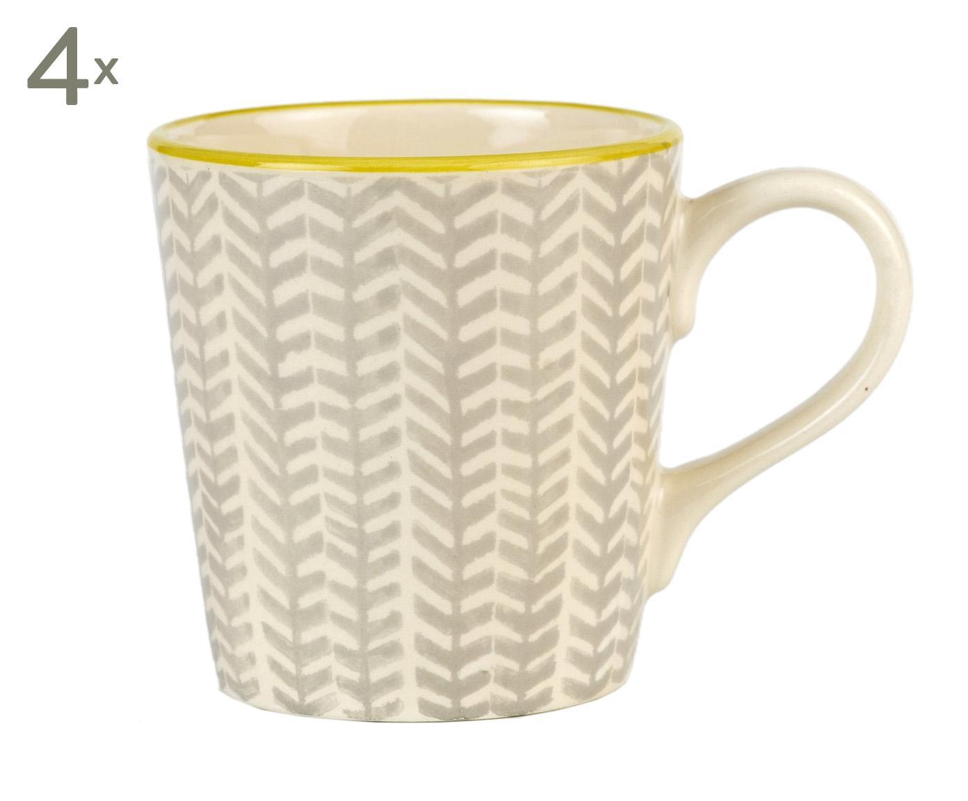 Port Maine, Handgefertigte Tassen Mia, 4 Stück,...