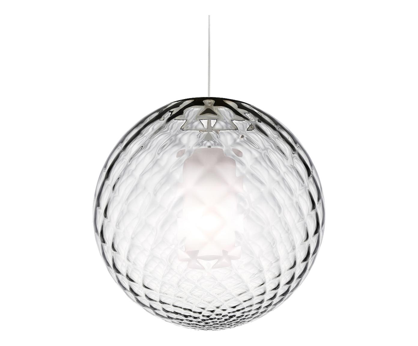 Lampadario in vetro soffiato Bright cristallo LA346WWBXYVJIT - La ...